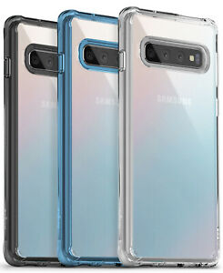 Samsung Galaxy S10 Plus, S10e   Ringke [FUSION] Clear Shockproof Cover Case