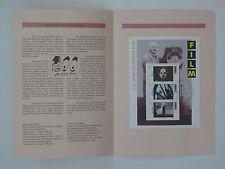 (95j30) Bund Erinnerungsblatt 1995 mit ESST Mi.Nr.  Block 33  Deutscher Film