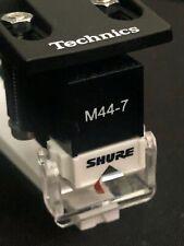 SHURE M44-7 DJ Turntable Cartridge Stylus / TECHNICS Headshell & Overhang Gauge