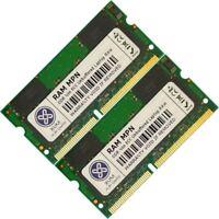 Memoria Ram 4 Samsung Laptop / Notebook V25 2x Lot SDR SDRAM