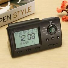 Digital Automatic Islamic Azan Muslim Prayer Alarm Calender Clock Adhan Qibla