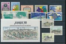 LL97409 Luxembourg mixed thematics fine lot MNH