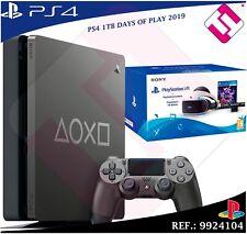 Sony PlayStation 4 Slim Days of Play Edición Especial 1TB Consola – Jet Black