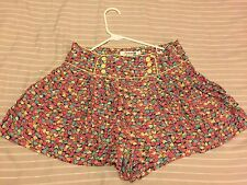 summer time 2 pieces shirt colorful shorts