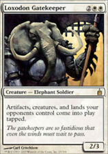 City of Guilds NM White Rare MAGIC CARD ABUGames Loxodon Gatekeeper Ravnica