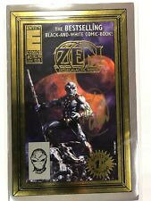 ZEN INTERGALACTIC NINJA #0 GENUINE AUTOGRAPHED COMIC BOOK (1993 ENTITY COMICS)