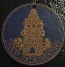 (No1502) German Winterhilfswerk WHW WW2 cardboard pendant SOEST OSTHOVENTOR