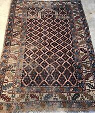 An Antique Caucasian Prayer Rug, An Awesome Caucasian Shirvan Prayer Rug