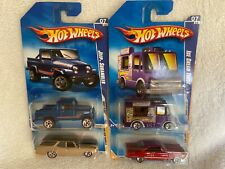 Hot Wheels Jeep Scrambler, Ice Cream Truck, Chevelle Wagon, Fairlane Redlines !