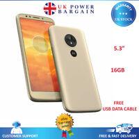 Motorola Moto E5 Play 4G 16GB Gold XT1920  SIM-Free Unlocked Android Smartphone