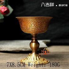 Buddha Tibet Tibetan Buddhist Mikky Butter Lamp Holder Vessel