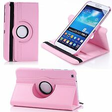 Ultrathin 360 Rotate PU Leather Flip Case Cover Stand for Samsung Galaxy Tablets