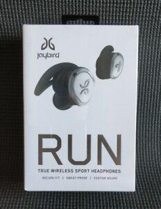 Jaybird RUN Wireless Bluetooth Headphones Earbuds for Running Jogging Gym NEW