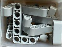 32526 NEW!!! Lego 6x Technic Light Bluish Grey Liftarm 3x5 L-shape