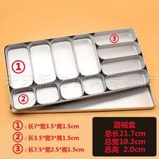 Dental tools 12 cells compartment box,High-temperature box,Dental Instruments.