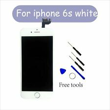 Replacement Touch LCD Screen Glass Front Camera Home Button for White iPhone 6s