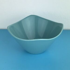Vintage Retro Midwinter Stylecraft Fashion Shape small Sugar Bowl Blue ex cond