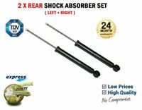 2x REAR AXLE Shock Absorbers for VW GOLF V Variant 1.9 TDi 2007-2009