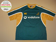 EX! Australia Wallabies Away 2000's CANTERBURY Rugby Union Shirts Maglia Camisa