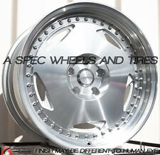 18x9 Varrstoen MK6 5x120 +30 Machined Wheels (Set of 4)