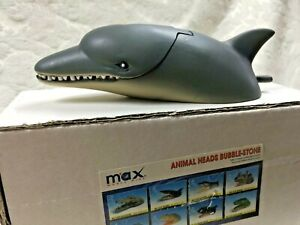 Fish Tank Moving Dolphin Ornament Decorations Air Bubble Stone Oxygen Pump New