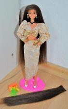 Barbie Cut N Style brown Hair 90er