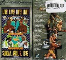 WWE WWF Wrestlemania 8 VIII Live Sid Justice VS H Hogan New Wrestling VHS Tape