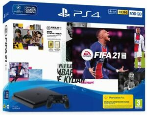EA Sports Fifa 21 500GB PS4 Bundle (PS4) NEW Redesigned chassis