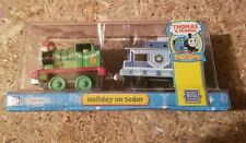 Thomas and friends  Holiday on Sodor (Percy) Take Along n Play Die Cast Cars NOS