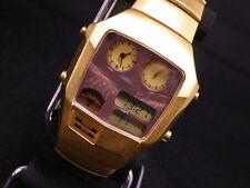Citizen ANA-DIGI TEMP Wristwatch 8988-002055 **Cut Glass** From Japan #217