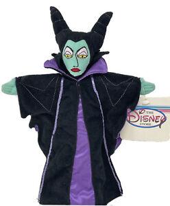Retired Walt Disney Sleeping Beauty MALEFICENT Stuffed Animal Doll NEW w/ TAG