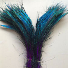 Beautiful Peacock feather sword 13-16 inches / 33-40 cm 10-100 pcs 10 Color