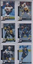 17/18 OPC St. Louis Blues Zach Sanford Black Rainbow card #417 Ltd #93/100
