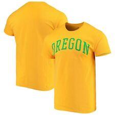 Oregon Ducks Fanatics Branded Basic Arch T-Shirt - Yellow