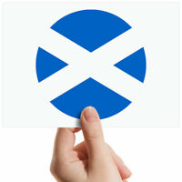 "Scotland Scottish Flag Small Photograph 6"" x 4"" Art Print Photo Gift #9122"