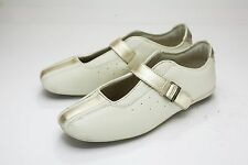 Ellesse 8 8.5 Off White Gold Athletic Shoes Women's