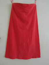 Orange to Coral Pink Boob Tube Stretch TopShop Mini Dress Size 8 - mislabelled