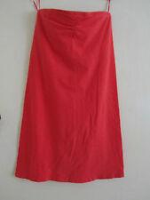 Orange Coral Pink Boob Tube Bodycon Stretch TopShop Mini Dress Size 6 - 8