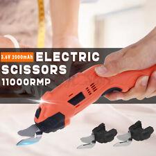 Electric Auto Scissors Cordless Tailors Cutter Fabric Cutting Machine Craft DIY