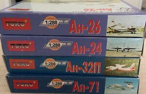 Russian Aircraft Model Kits