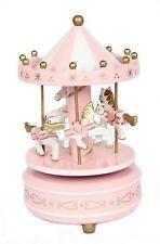 Merry-Go-Round Carousel Classic Music Box Kids Christmas Birthday Wedding Gift