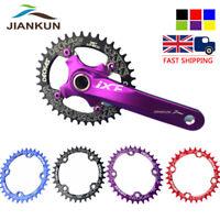 UK DECKAS 104bcd 32-52T Narrow Wide Aluminum Crankset MTB Bike Crank Chainring