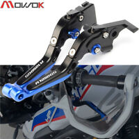 2020 With logo R1250 GS CNC Adjustable Brake Clutch Levers For BMW R1250GS LC