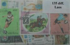 Laos 135 Stamps (ww115a)