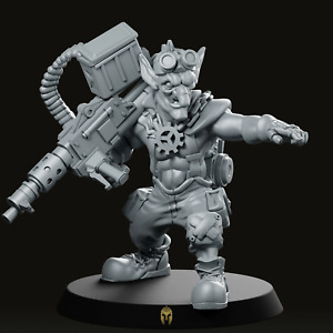 Goblin Heavy GearBoyz Miniature - Future Wars