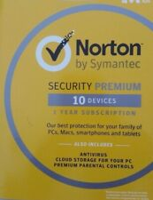 Norton Security Premium 10 Devices w/ Antivirus - PC Mac Android iPhone Tablet