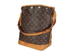 LOUIS VUITTON Noe GM Monogram Canvas Leather Drawstring Shoulder Bag LP3573