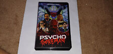 PSYCHO GOREMAN PG VHS Tape Limited Edition With Artwork Adam Brooks , Limited 50