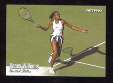 10) VENUS WILLIAMS 2003 NetPro SHORT PRINT SP Tennis Rookie Card #99 LOT