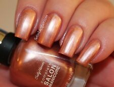 NEW! Sally Hansen Complete Salon Manicure nail polish GOLD ROSES #817